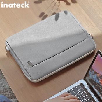 Удароустойчива чанта за лаптоп в сив цвят