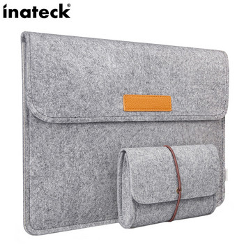 Чанта за лаптоп подходяща за Apple Мacbook в сив цвят