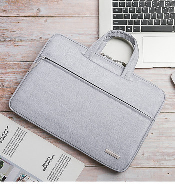 Удароустойчива чанта за лаптоп  от текстил с дръжка