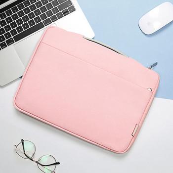 Чанта за лаптоп подходяща Apple Pro13.3inch в сив и розов цвят