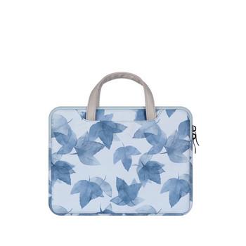 Чанта с дръжки за iPad Apple 9.7 inch,10.2 inch,10.5 inch и 11 inch в син цвят