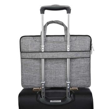 Чанта за лаптоп с дълга и къса дръжка подходяща за Apple