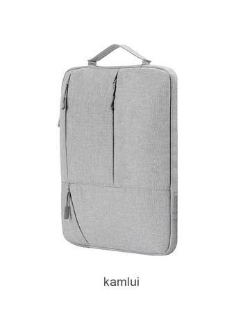 Преносима чанта за лаптоп с цип и преден джоб