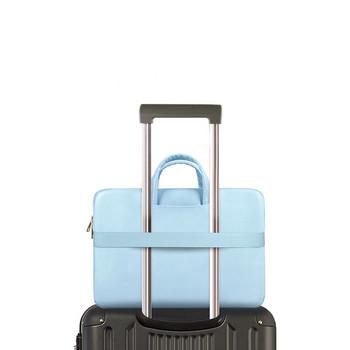 Преносима чанта за лаптоп Dell 14 inch  в син цвят