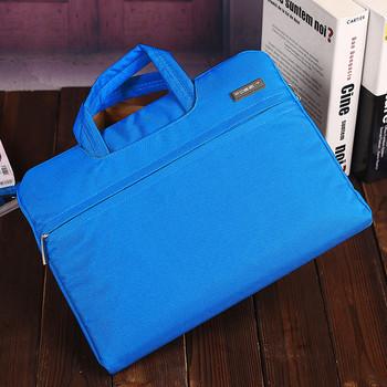 Чанта за лаптоп подходяща за Lenovo/Huawei/Apple/Del/ASUS с преден джоб и къса дръжка