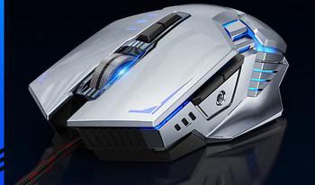Геймърска  мишка с USB кабел и LED светлини