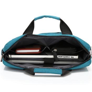 14 инчова чанта за лаптоп с дръжки и джобове