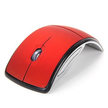 Сгъваема безжична мишка с 3 броя клавиши и две батерии ААА
