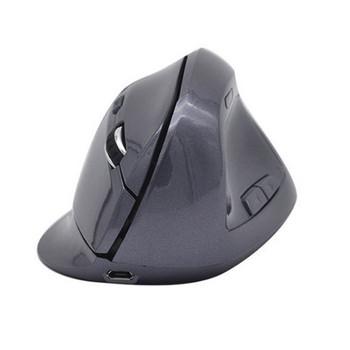 Вертикална безжична зареждаща се мишка с 6 броя клавиши