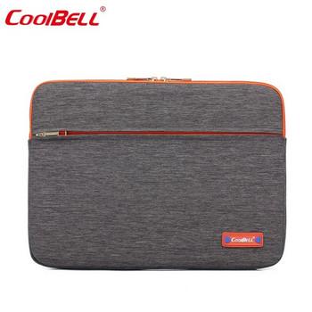 Калъф за лаптоп с цип и отделения за принадлежности