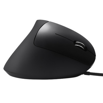 Вертикална ергономична лазерна мишка с кабел и 6 броя клавиши