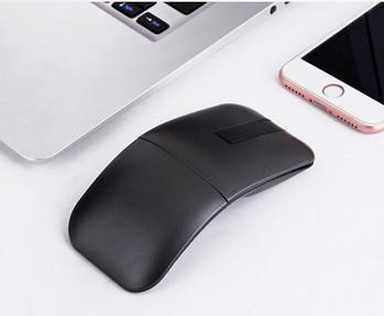 Въртяща се портативна безжична мишка за  лаптоп Apple Dell