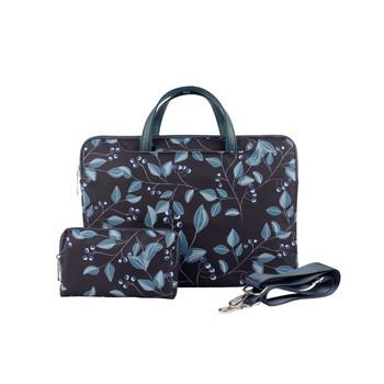 Чанта за 15.6 инчов лаптоп с къси дръжки и флорален десен