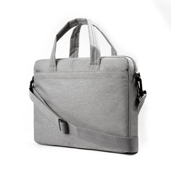 Текстилна чанта за 15.6 инчов лаптоп с къса и дълга дръжка