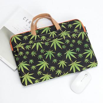 Чанта за 13.3 инчов лаптоп с къси дръжки и цветен десен