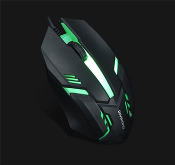 Светеща геймърска мишка с кабел