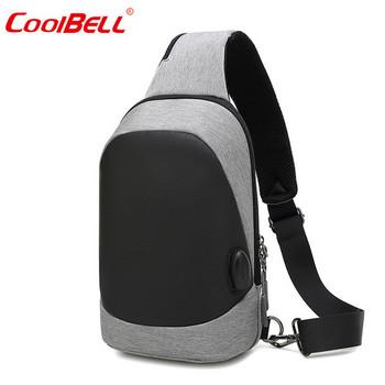 Чанта за лаптоп с една дръжка и USB порт