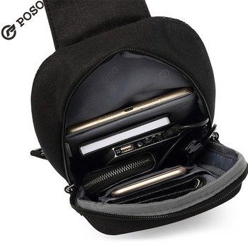 Мъжка чанта за едно рамо подходяща за таблет