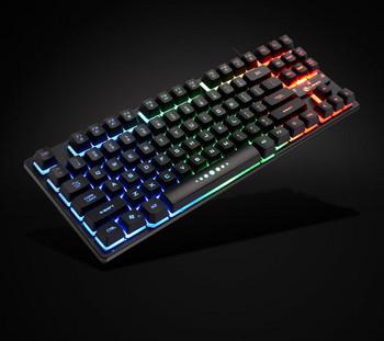 Светеща клавиатура с 87 клавиша