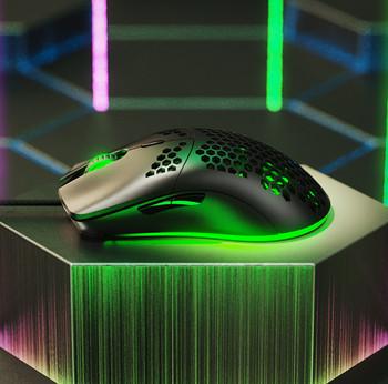 Fick W10 Геймърска мишка с цветни светлинни ефекти