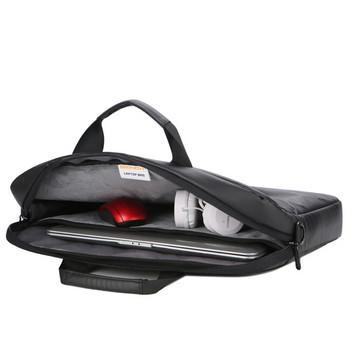 Удобна чанта за 15.6 инчов лаптоп с къса и дълга дръжка