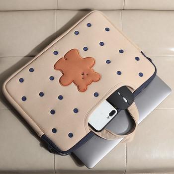 Портативна чанта за 15.6 инчов лаптоп с мече