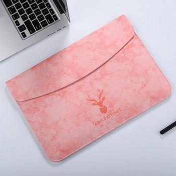 Калъф подходящ за 16 инчов лаптоп и таблет с апликация във формата на елен