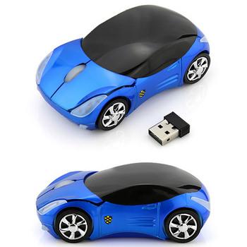 Безжична мишка във формата на кола