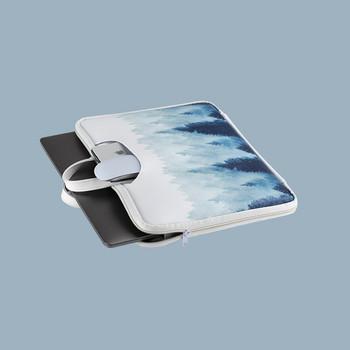 Практична чанта за 15.6 инчов лаптоп с цветна апликация