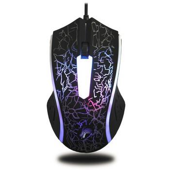 X7 4000DPI кабелна мишка с 6 бутона и LED светлини