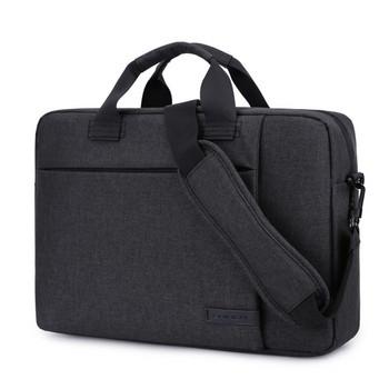 Удобна чанта за 15.6 инчов лаптоп с къси и дълги дръжки