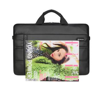 Водоустойчива чанта за съхранение на 15.6 инчов лаптоп от еко кожа