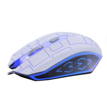 Mobao M3 Hell USB  кабелна 3D цветна светеща мишка с 3 броя клавиши