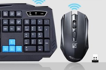 Комплект безжична клавиатура и мишка