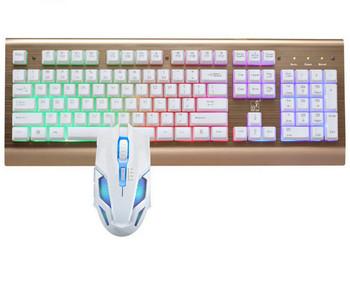 Комплект геймърска клавиатура и мишка
