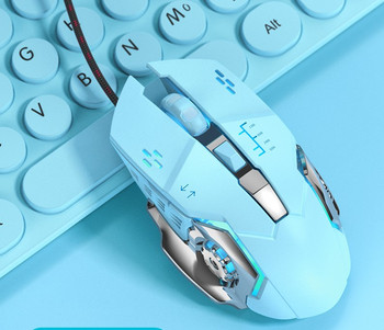 Оптична мишка с USB кабел 1200DPI