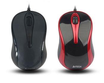 Светеща кабелна мишка с 3 броя клавиши