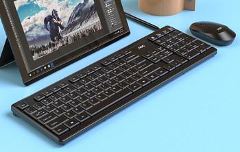 AOC KM200 акумулаторна безжична клавиатура и мишка