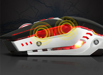 Светеща мишка със седем бутона