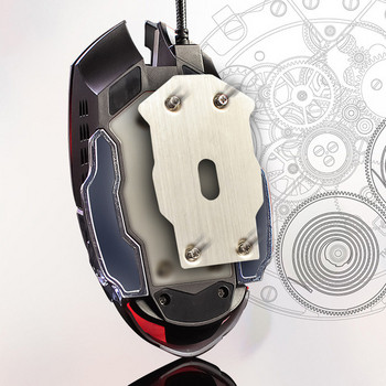 Светеща мишка с кабел и 6 бутона