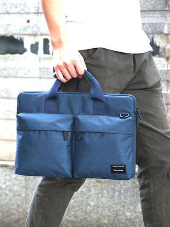 Голяма чанта за 15.6 инчов лаптоп с джобове
