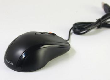 Кабелна черна  мишка Shuangfeiyan N-70FX с 7 броя клавиши