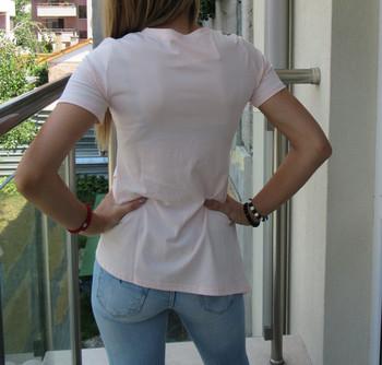 Дамска тениска  с камъни