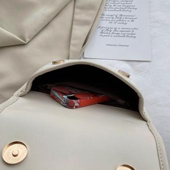 Ежедневна дамска чанта за през рамо с надпис