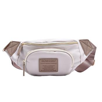 Ежедневна дамска чанта за през рамо с надписи