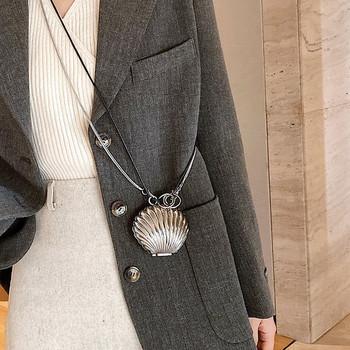 Μοντέρνο γυναικείο πορτοφόλι με μακριά λαβή