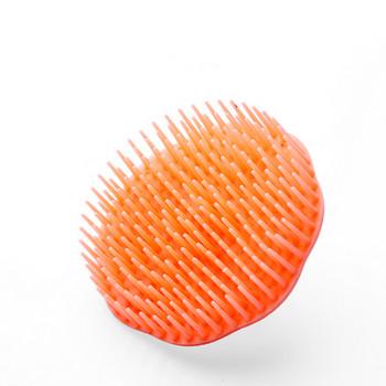 Βούρτσα σιλικόνης με αποτέλεσμα μασάζ και καθαρισμού