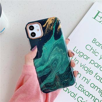 Силиконов калъф за Iphone 11 с мраморен ефект