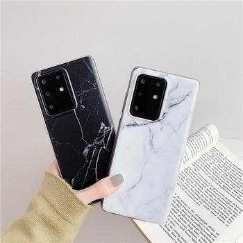 Мраморен калъф за  Samsung S20 Plus