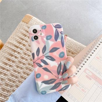Калъф с флорален принт за Iphone 11